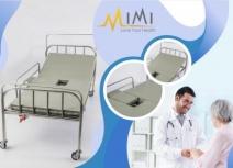 Giường y tế inox 1 tay quay GIB-025